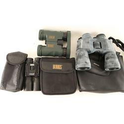 Lot of 3 Binoculars