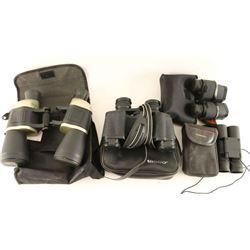 Lot of (4) Binoculars
