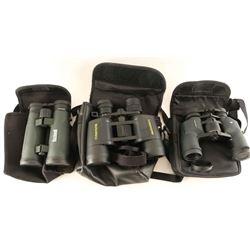 Lot of (3) Binoculars