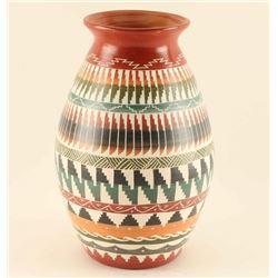 Navajo Incised Carved Olla