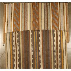 Lot of 2 Mexican Rugs