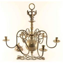 Imperial Russian Brass Chandelier