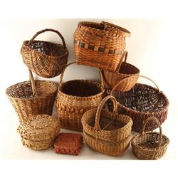 Large Lot of Baskets