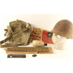 Lot of Japanese Military Items