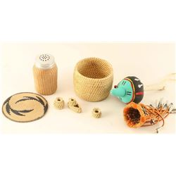 Lot of Woven Items