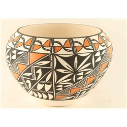 Acoma Polychrome Pot