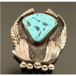 Sterling & Turquoise Pin