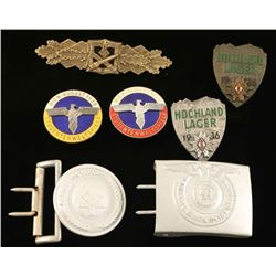Lot of German WWII Insignia