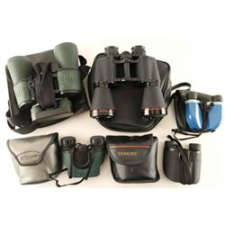 Lot of 5 Pairs Binoculars