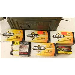 Lot of 22 TCM Ammo