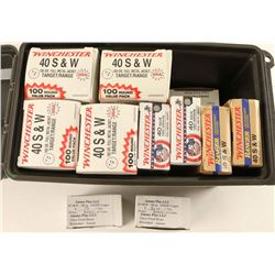 Lot of .40 S&W Ammo