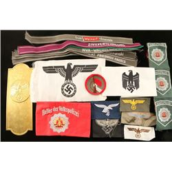 Lot of German WWII Items