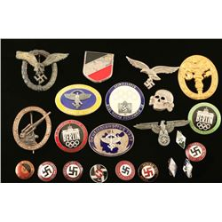 Collection of German WWII Badges
