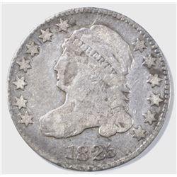 1825 BUST DIME VG