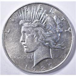 1927-D PEACE DOLLAR   BU