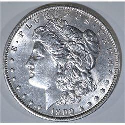 1902 MORGAN DOLLAR AU/BU