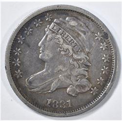 1831 BUST DIME  XF