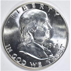 1961-D FRANKLIN HALF DOLLAR  GEM BU