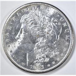 1881-S MORGAN DOLLAR  GEM BU
