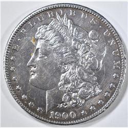 1900 MORGAN DOLLAR  CH BU