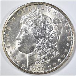 1900-O MORGAN DOLLAR  BU