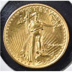 1987 $5 GOLD EAGLE  BU  580K MINTAGE