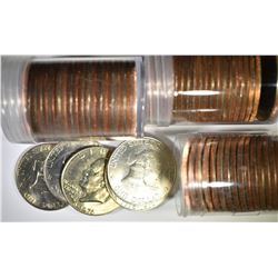 1976 EISENHOWER DOLLAR ROLL LOT: