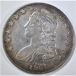 1835 BUST HALF DOLLAR  AU