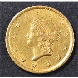 1853-O $1 GOLD LIBERTY  CH UNC