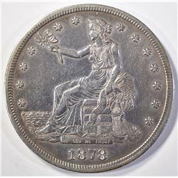 1878-S TRADE DOLLAR  AU