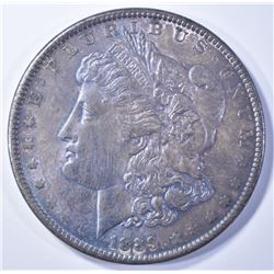 1889 MORGAN DOLLAR  CH UNC  TONED