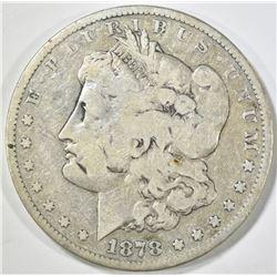 1878-CC MORGAN DOLLAR VG