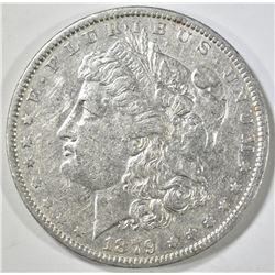 1879-O MORGAN DOLLAR AU
