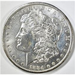 1884-CC MORGAN DOLLAR BU OLD CLEANING