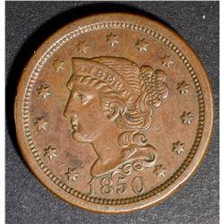 1850 LARGE CENT, AU