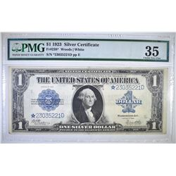 1923 $1 SILVER CERTIFICATE  FR#238* PMG 35