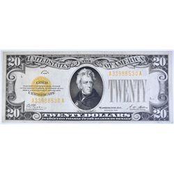 1928 $20 GOLD CERTIFICATE  FR 2400