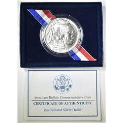 2001 AMERICAN BUFFALO COMMEM SILVER DOLLAR
