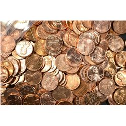 MIXED DATE BU LINCOLN CENT LOT: