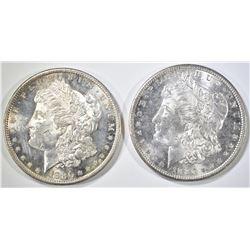 2-1880-S CH BU MORGAN DOLLARS