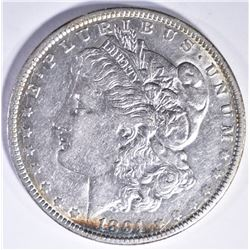 1891-O MORGAN DOLLAR AU/BU