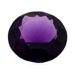 11.20 ct. Natural Round Cut Amethyst
