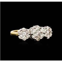 18KT Yellow Gold 1.80 ctw Diamond Ring