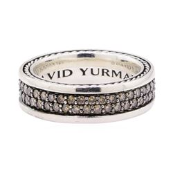 David Yurman 1.20 ctw Chocolate Diamond Ring - Silver