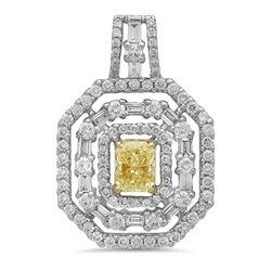 18k Gold 1.75CTW Diamond Jewelry, (VS1-VS2/VS2/VS2 /G-H/G /Nat-yel)