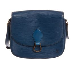 Louis Vuitton Blue Epi Leather St. Cloud GM Bag