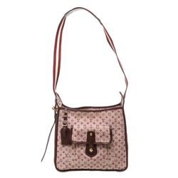 Louis Vuitton Burgundy Mini Monogram Canvas Leather Besace Mary Kate Crossbody B