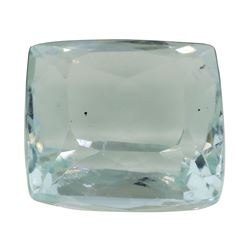 5.97 ct. Natural Cushion Cut Aquamarine