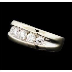 1.06 ctw Diamond Ring - 14KT White Gold