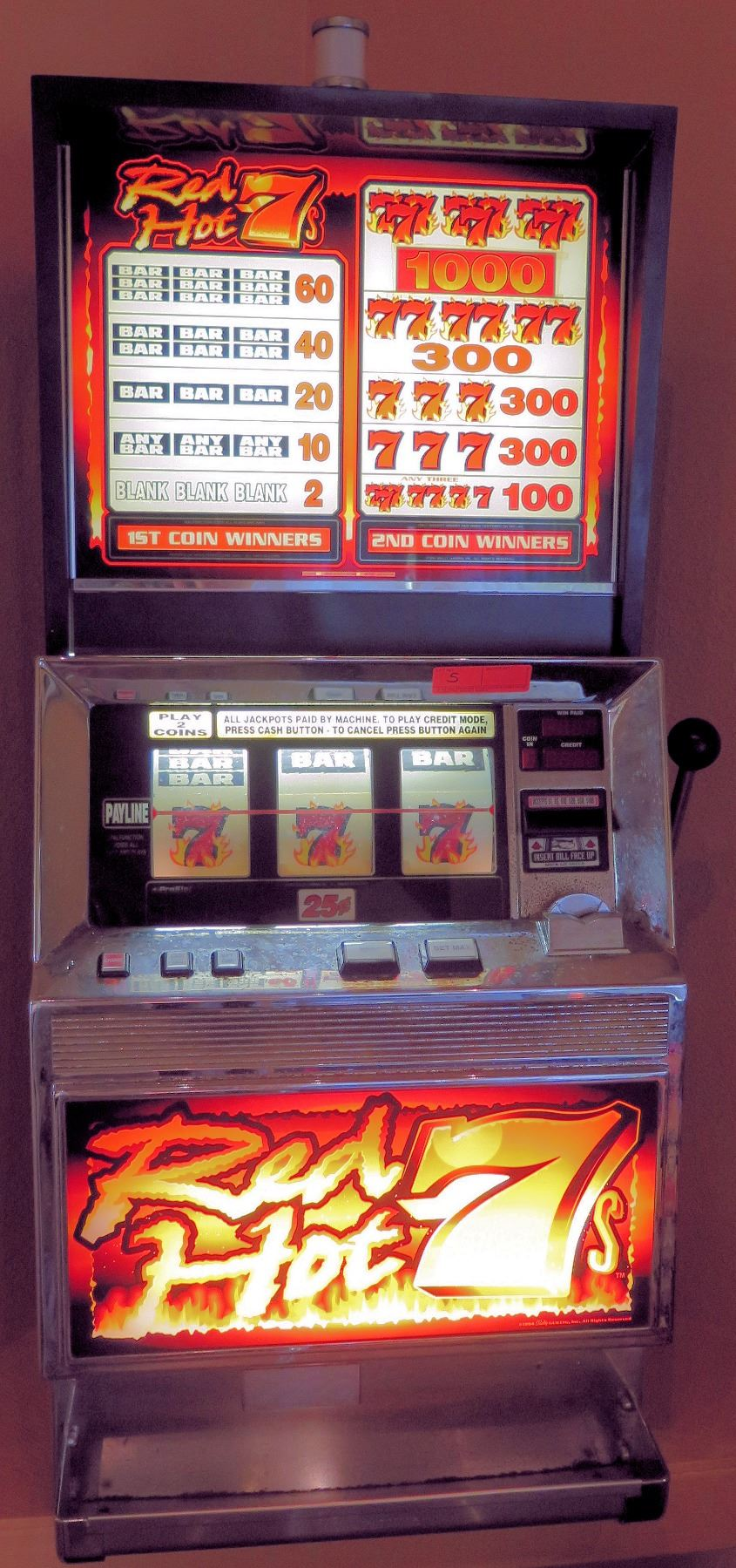 Triple 777 Slot Machine